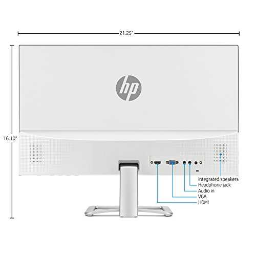 monitor HP 24ea white 24""